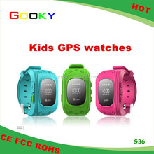 Kids Gsm Gps Tracker Watch Model Number For G36 Kids SOS Watch