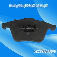 High quality car disc brake pad manufacturers in China no asbestos