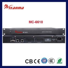 MC-6610 Electronic Voting System for Conference