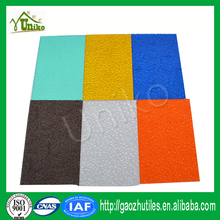 Plastic rolls wall sheet anti-scratchs polycarbonate embossed sheet