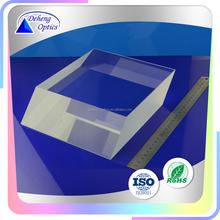 Custom optical glass prism for tank periscope