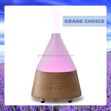 Aroma nebulizer ultrasonic humidifier ionizer led color changing