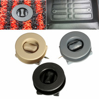 Brand New 2pcs/Set Multi-color Universal ABS Plastic Car Mat Carpet Clips Fixing Grips Clamps Floor Holders Sleeves Premium