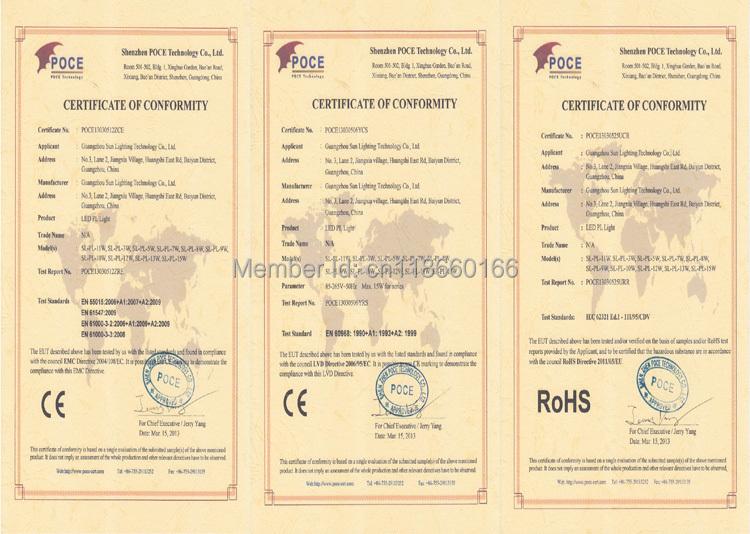 Certificate of G24