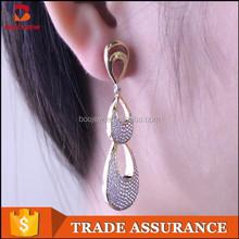2015 bali jewelry earring initial silver big earring for sale
