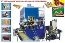 Rollo de huevo galleta que hace las máquinas