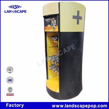 Display stand for hanging battery--eneloop and duracell brand