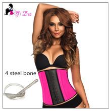 Steel Bone Waist Cincher/Trainer/ Body Shaper Underwear For Women Underbust Bustier Cincher Corset