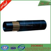 Multi-purpose manuli high pressure steel wire braid hydraulic rubber hose in China manufacturer