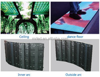 P6.25 Programmable Flexible Indoor Led Display Panel, RGB Tricolor , Remote Control
