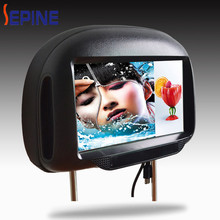 3G outdoor advertising 9 inch headrest led monitor for car