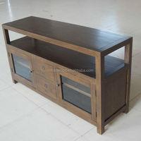 US Market Solid Wood TV Stands / Home Usage TV Cabinet /Wooden TV Cabinet