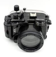 Meikon Underwater Digital Camera Housing for Canon G7X,waterproof to 40M