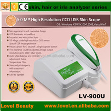 new products looking for distributor magic mirror skin and hair scanner 5.0 MP High Resolution CCD USB skin analyzer
