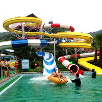 water park equipments, big water slides for sale
