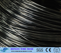 black pvc coated iron wire/cyclone wire fence philippines with pvc coated