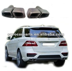 High quality and hot sale ML63 style exhaust tips muffler tips for ML CLASS W164