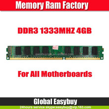 China import export 1333mhz ddr3 4gb ram accept paypal