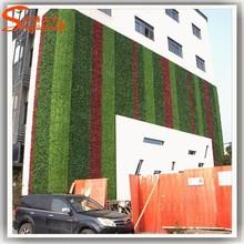 New outdoor grass wall decor design and simulation artificial moss grass wall for decoration of high imitation artificial grass
