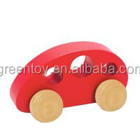 Kids cheap toy wooden mini cars for sale