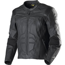 Real Leather Motorbike Jacket