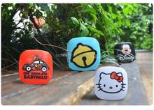 New design Cute mini animal picture power bank 6000 mAh for phone