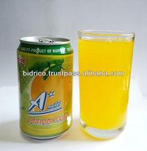 Mango Juice Drink in 330ml Can - A*NUTA brand