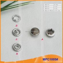 Fashion Pearl five Paws Snap Button /Gripper MPC1005