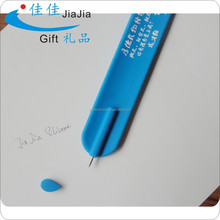 Cute Silicone Advertising Ball Pen Fancy Design cheap silicone snap/slap Pen