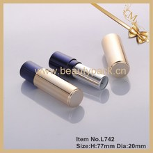 custom gold lipstick container new product