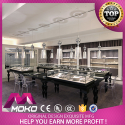 Hot selling jewelry shop interior decoration furniture jewellery store design