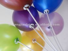 plastic 40cm balloon stick and cup