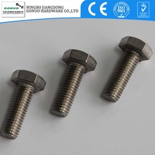 DIN933 a2 70 bolts stainless steel 304 full thread