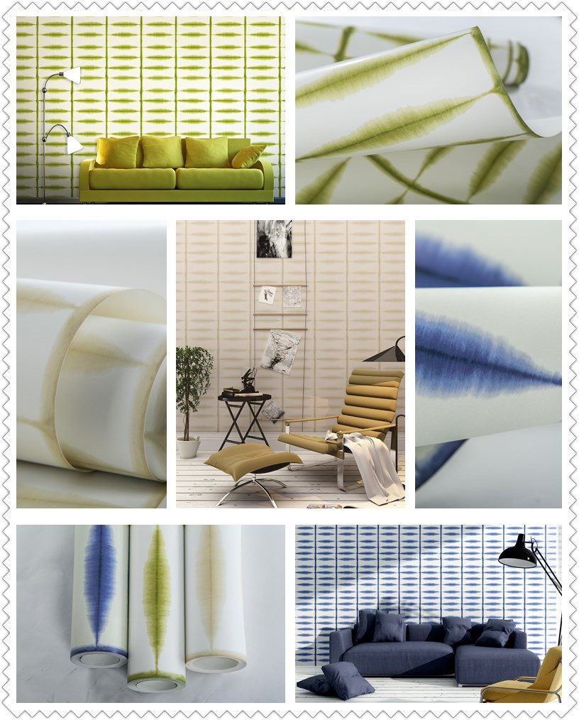 Simple moderno pintado no tejido sal n dormitorio pared for Papel pintado salon moderno