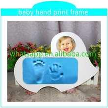 Customed Baby Foot Hand Prints Frame attractive handprinting deer