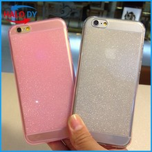 For Glitter TPU mobile Phone Case For iPhone 6 Case, mobile phone case for iPhone 6 plus case