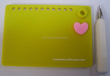 Office Tablet Rewritable Silicone Memo Pad, Silicone Write Board with Erasable Pen