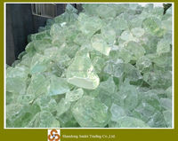 High quality white large slag recycled crushed glass for sale