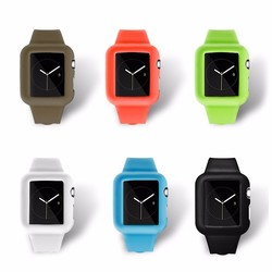 For Apple Watch Wrist Band Silicon Watch Strap for iphone watch bands 2015 new hot sale products