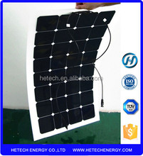 use A grade flexible solar cell made 102w thin film flexible solar panel