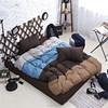 Silver blue brown khaki four colors printed bedding set king queen size duvet covet bedding set wholesale