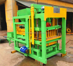 HOT!!! HYDRAULIC QTJ4-20B brick machine price / concrete block making machine price