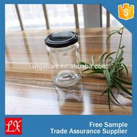LXHY-J027 cheap Wholesale jam canning 250ml glass jar