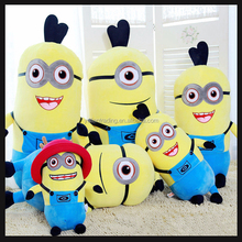 customized minion soft toy for promotion gifts