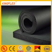 NBR/PVC heat insulation rubber building material with aluminum foil