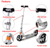 Winmax brand 100% Alumnium Foldable extreme adult freestyle pro scooters
