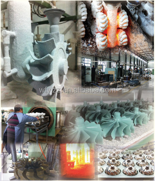 high quality aluminium casting used for jet engine and outboard motor
