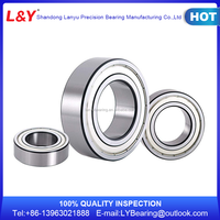 High quality angular contact ball bearing waterproof bearing ZKLN2557-2RS high speed and precision