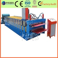 Double Deck Metal Roof Tile and Sheet Making Machine