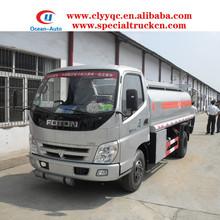 FOTON 6000L mini fuel tank truck for sale